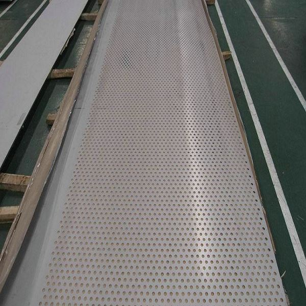 ASTM Ss 2205 / 2507 Duplex Supper Ba 2b Stainless Steel Perforated Sheet Factory Price