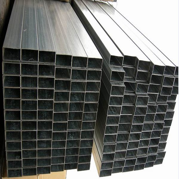 China Thin Wall Rectangular Welded Stainless Steel Pipe